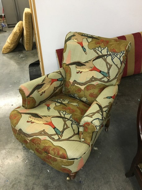 Armchair - Mulberry