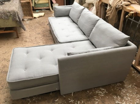 Nomade grey linen