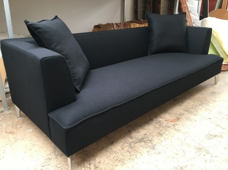 Ligne Roset black wool