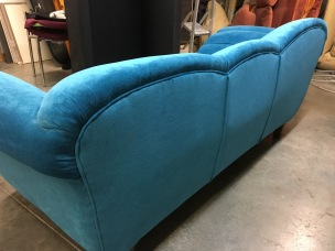 Art deco sofa - back