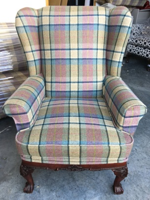 Check wingback - front