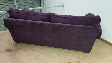 Purple velvet Woburn