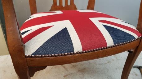 Union Flag stud detail