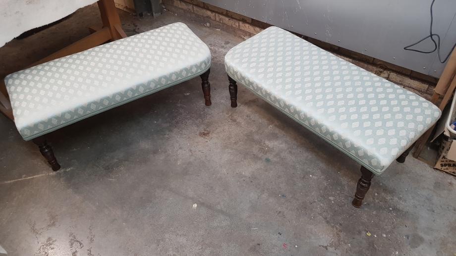 Footstool pair
