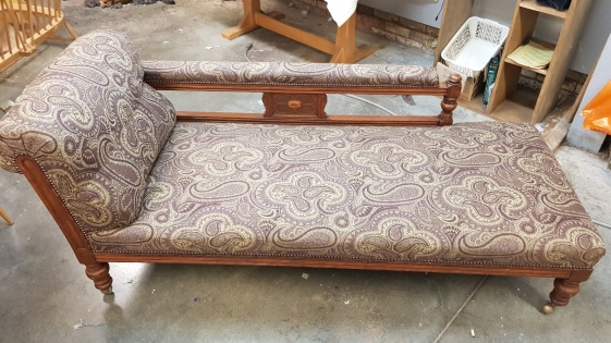 Paisley chaise